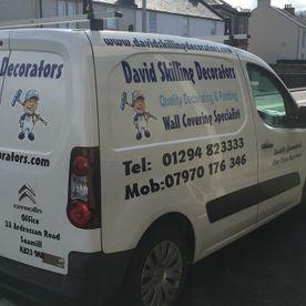 Our van that we use